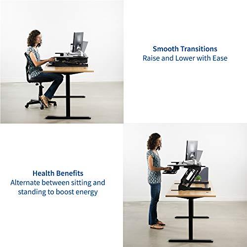 VIVO Height Adjustable Standing Desk Review
