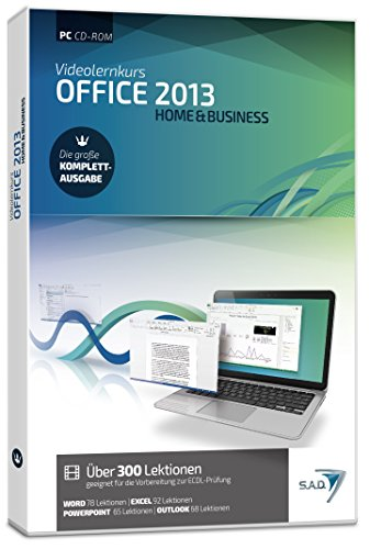 S.A.D Videolernkurs Office 2013 - Home & Business [import allemand]