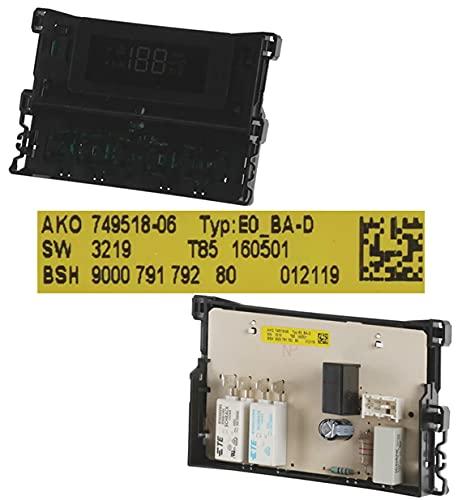 Desconocido Módulo Electrónico Reloj 00751722, Horno BALAY 3HE506XM