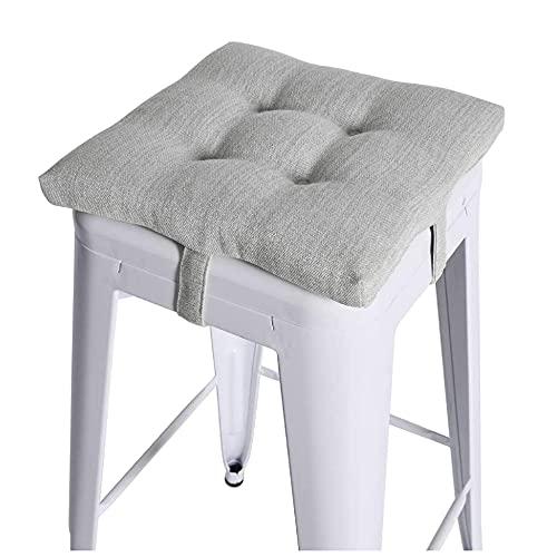 CGDX Cojín de asiento cuadrado, cojines gruesos Cojín de a