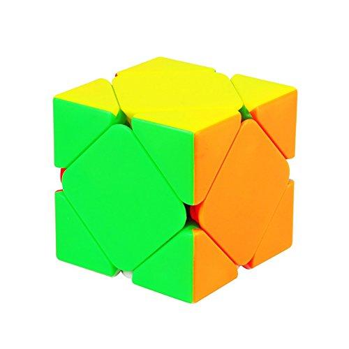 TBGGFSD Pequeño Cubo De Rubik Inclinado Cubo De Rubik Antiadherente Pie Grande De La Tarjeta Posicionamiento De La Bola De Acero Suave
