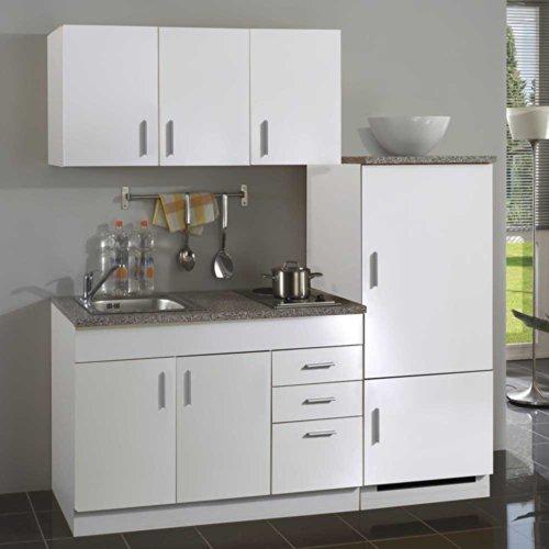 Pharao24 Büro Küche Crispo in Weiß (4-teilig)