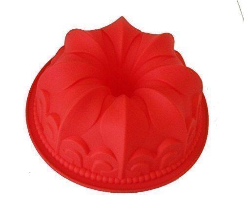 GMMH Original Molde para Cocina de Silicona XXL Molde con Forma esférica para Pan o - Rojo