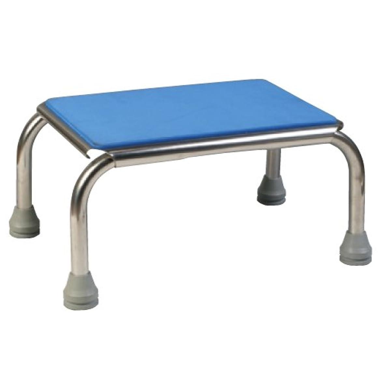 朝の体操をするプレビスサイト去る浴室用ガッチリ踏み台(20) FIC-004B(ブルー)