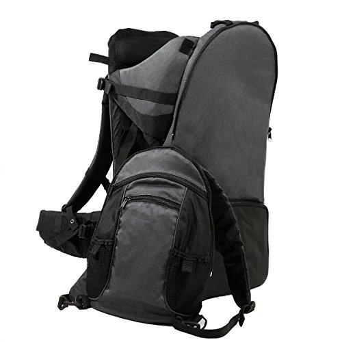 ClevrPlus Deluxe Adjustable Baby Carrier Outdoor Hiking Child Backpack Camping