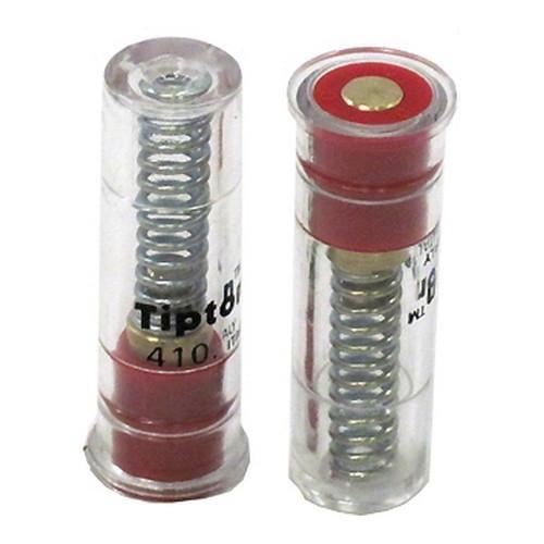 Tipton T358-983 Salvapercutor Calibre 410 Plástico 2 Unidades, Transparente, Talla Única