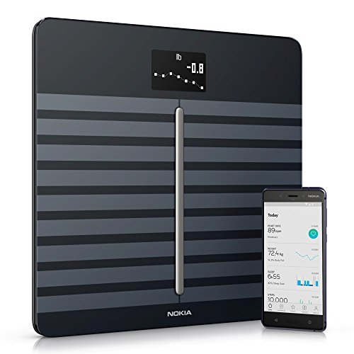 Nokia Body Cardio Heart Health & Body Composition Wi-Fi Scale