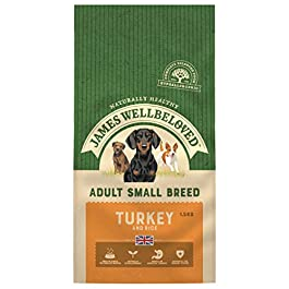 James Wellbeloved Adult Small Breed Turkey And Rice Hypoallergenic Complete Dry Dog Food