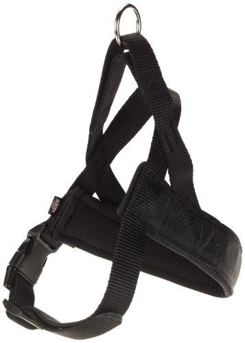 Trixie 20521 Premium Norweger-Geschirr, M–L: 53–66 cm/40 mm, schwarz