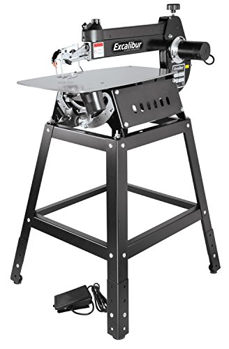 Excalibur 16' Tilting Head Scroll Saw Kit with Foot Switch(EX-01) & Stand