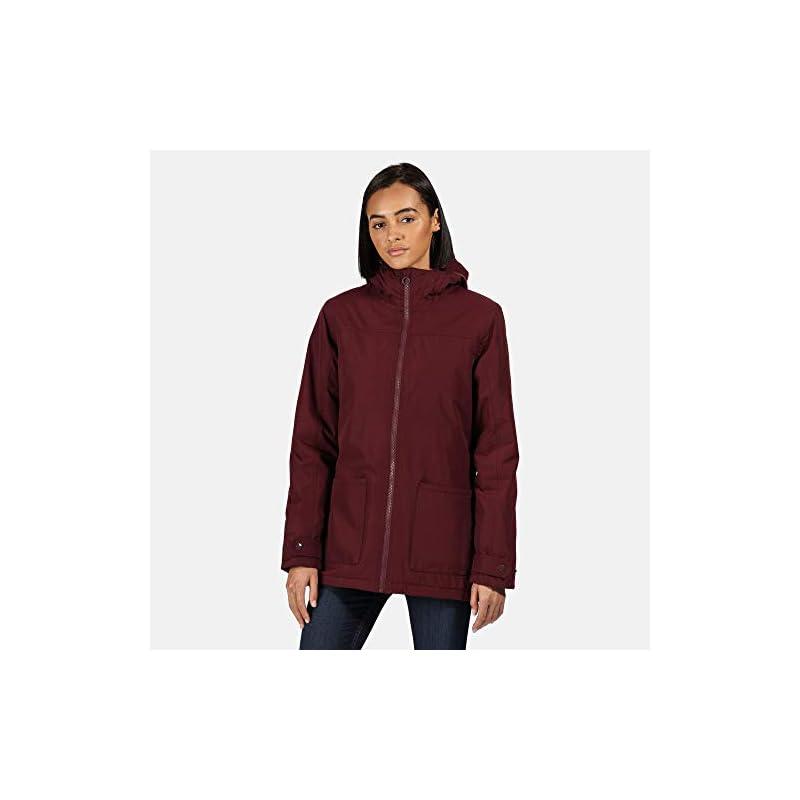 Regatta Women's Bergonia Ii Waterproof Taped Seams Insulated Hooded Jacket