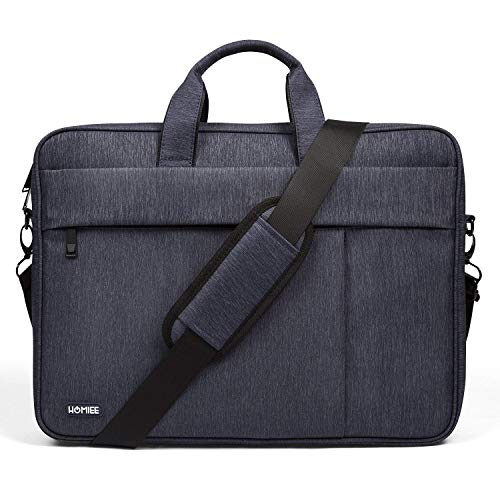 HOMIEE Laptop Schultertasche 15 Zoll, Umhängetasche für 13 Zoll MacBook Pro/Air, 13,5 Zoll Surface Book/Laptop, Umhängetasche Gepäckgürtel kompatibel mit Dell Lenovo ThinkPad Acer HP Notebook