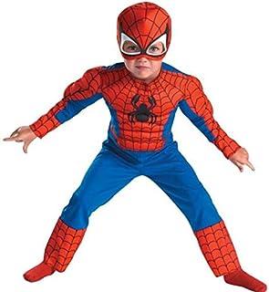 Halloween Children'S Clothing,Kids Halloween Mascot Spiderman Costumes,Children Spider Man Costume