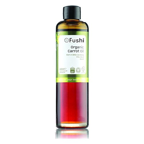 Fushi Carrot Oil Infused in Organic Sweet Almond 100ml (Pack of 3)