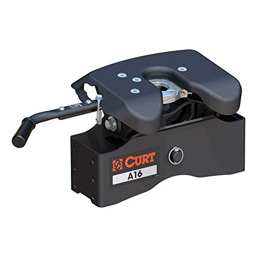 CURT 16520 A16 5th Wheel Hitch Head Only, Legs or Roller Required, 16,000 lbs -  Curt Manufacturing