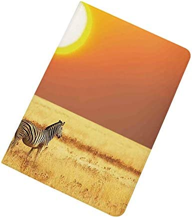 Safari Decor iPad Air 2 iPad Air Case Zebra at Sunset on The Grass African Mammal Culture Icon product image