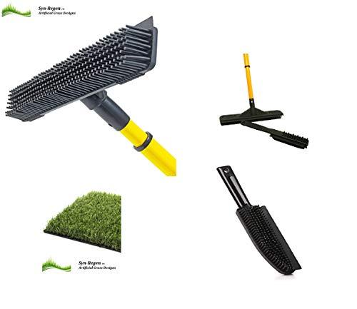 Terrain de hockey Pinceau artificiel et brosse à main Tennis Astro 3G 4G 5G Terrain de football Balai de jardin Balai à râteau pour réparation de gazon synthétique Outil de gazon artificiel