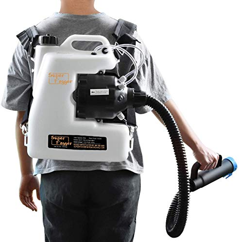 armorxmiths Portable Electric ULV Fogger, Fogger Machine Disinfectant Backpack Sprayer/Atomizer 3GAL Mist Blower with 12L Capacity, 110V, Distance 8-10 Meters for Garden School Home Hotel