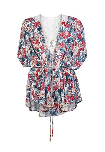 Protest Harpers Damen Kimono Harpers Seashell 1