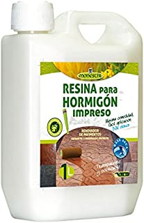 RESINA HORMIGON IMPRESO (Fórm. Agua) - 1L MONESTIR