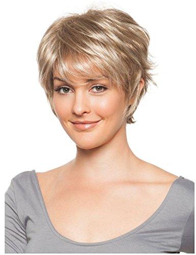 Premium Perruques liap étoiles perruque Perruques européens court moelleux lockige Perruques Perruques Perruques Perruque synthétique Care Kit stent usure Accessoires, wig