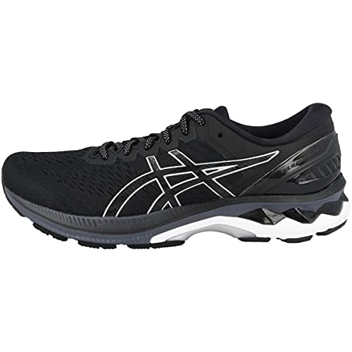 ASICS Męskie buty do biegania Gel-Kayano 27 Road, Black Pure Silver - 49 EU