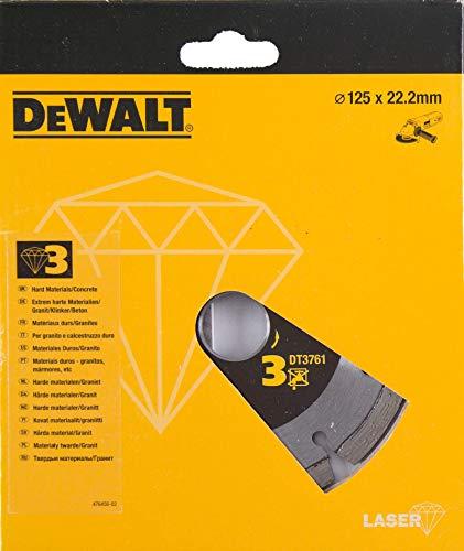 DEWALT DT3761-XJ DT3761-XJ-Disco de Diamante 125x22.2mm