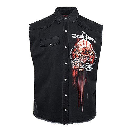 Spiral Direct x 5FDP Assassin Ärmelloses Shirt (Schwarz) - Large