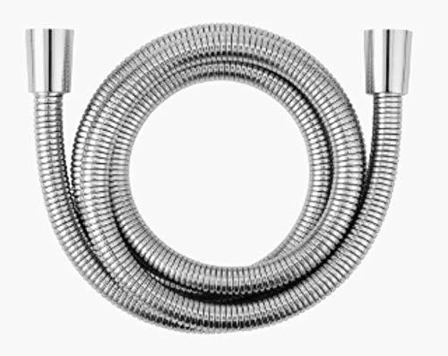 Manguera para Ducha Flexo Ducha Acero INOX. Extensible (1,70-2 M) Cromado ANTITORSION Serie Design - Garantia DE 2 AÑOS