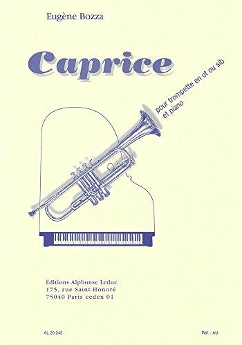 CAPRICE TROMPETTE UT OU SIB ET PIANO
