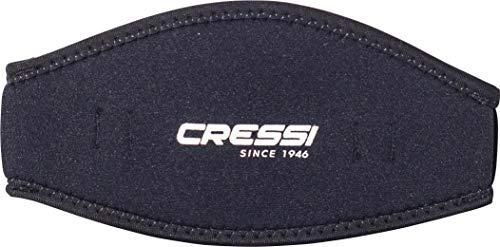 Cressi Neoprene Mask Strap Cover, black