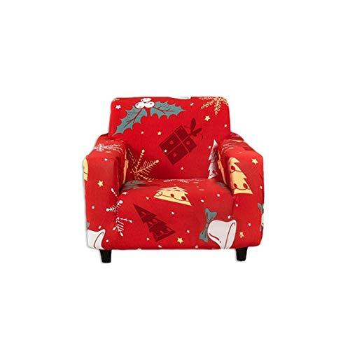 qianele Fundas de sofá elásticas de tela elástica, para decoración de Navidad, funda de sofá, funda protectora universal para reposabrazos para decoración del hogar para Navidad