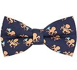 OCIA Pattern Bow Tie Pre-tied Adjustable Bowtie for Mens & Boys - Various...
