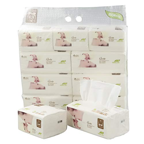 Cand Ultra Soft Facial Tissues 4 Ply Tissues Packs 1800 Counts