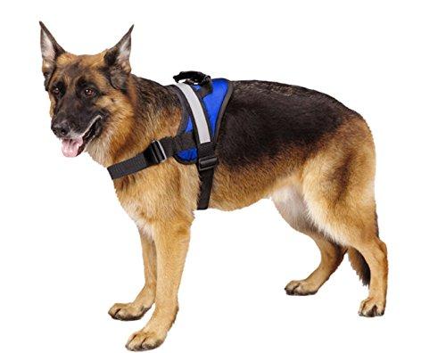 EXPAWLORER Best No-Pull Dog Harnes Reflective Outdoor Adventure Pet Vest with Handle