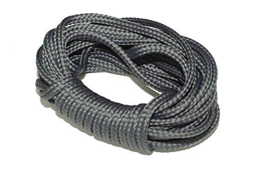 dalipo 33002 - Kordeln, Schnur 4mm, grau