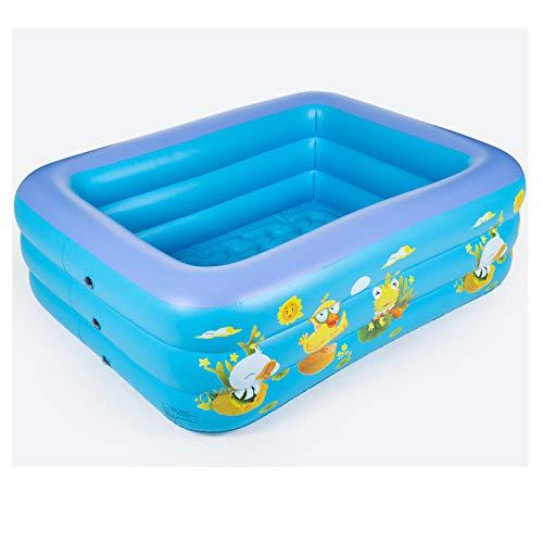 DAYUAN Piscina Infantil Hinchable Rectangular Redonda,Piscina Infantil, Piscina Infantil Hinchable-1.5mC,Piscina Familiar Swim Center Piscina para niños