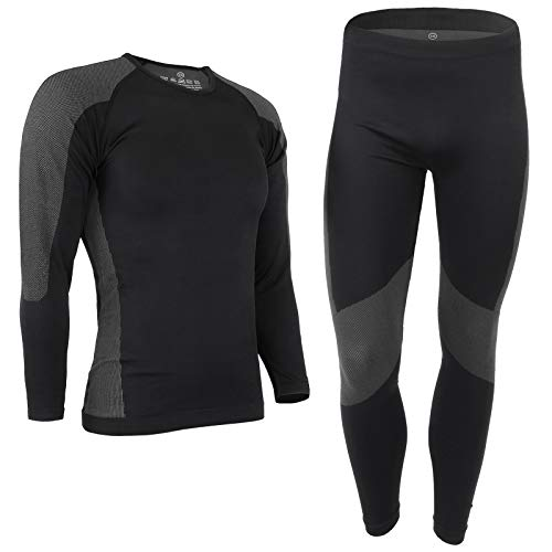 41PHm4oSCIL. SS500  - ALPIDEX Men's Thermal Underwear, Functional Thermal Underwear Set - breathable, warming and quick-drying