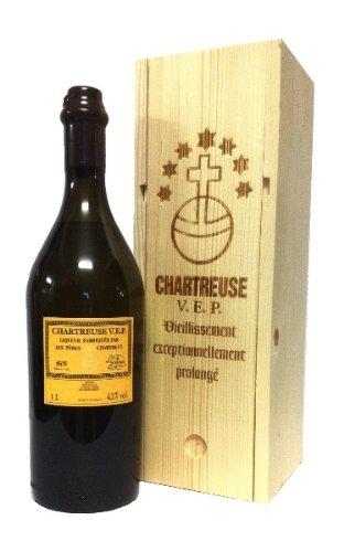 Chartreuse gelb VEP Likör 42% Liqueur 1,0l Flasche