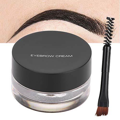 Gel de cejas a prueba de agua, cosmético del maquillaje de ojos de la belleza de la crema del delineador de ojos con el cepillo(04)