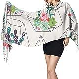 Bufandas de estilo escandinavo para mujer, ligeras,...