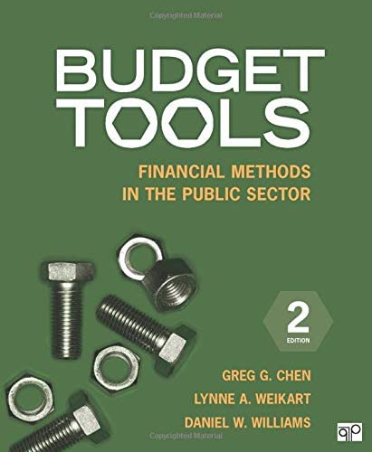 Budget Tools Financial Methods in the Public Sector product image