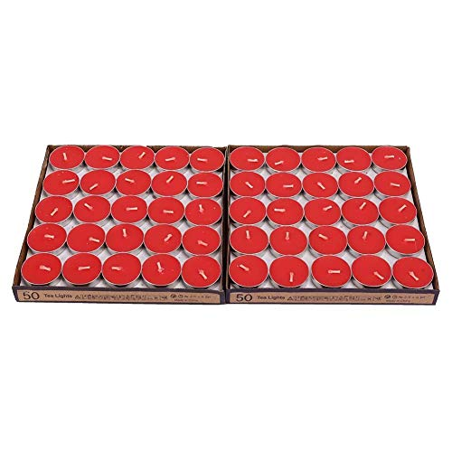 Velas perfumadas, velas, velas de aromaterapia, quema 100 piezas totalmente seguras y ecológicas para el nacimiento de yoga(red)