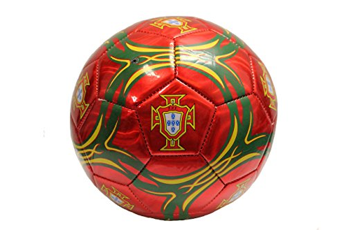 Portugal Colored, FPF Logo Soccer Ball .Size 5. New