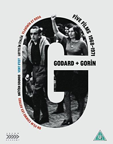 Jean-Luc Godard + Jean-Pierre Gorin: Five Films, 1968-1971 [DVD] [Blu-ray] [UK Import]