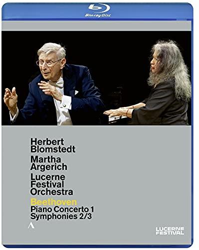 ルツェルン音楽祭2020 / マルタ・アルゲリッチ、ヘルベルト・ブロムシュテット、ルツェルン祝祭管弦楽団 (Lucerne Festival 2020 / Martha Argerich, Herbert Blomstedt, Lucerne Festival Orchestra) [Blu-ray] [Import] [日本語帯・解説付] [Live]