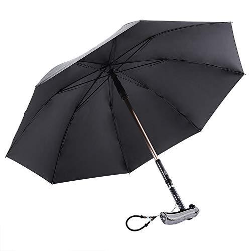 Stick Umbrella for Adult - Paraguas a Prueba de Viento/Sombrilla/Sistema de Alarma...