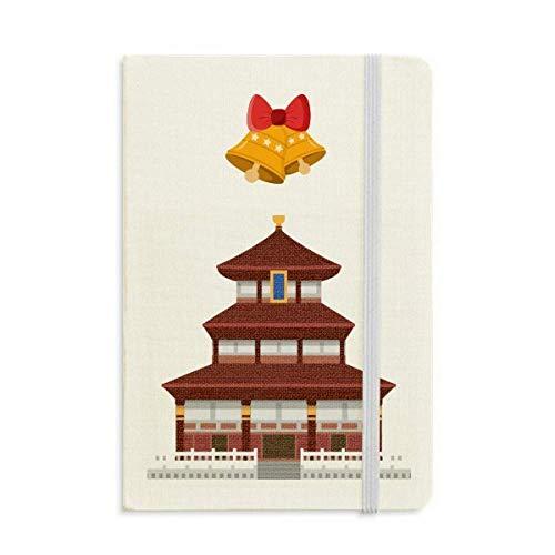 Cina architettura tempio punto di riferimento modello Notebook Journal mas Jingling Bell