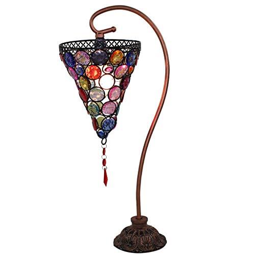 Tiffany Arab Royal Princess American Pastoral creatieve sfeer Exotische romantische tafellamp 6 inch