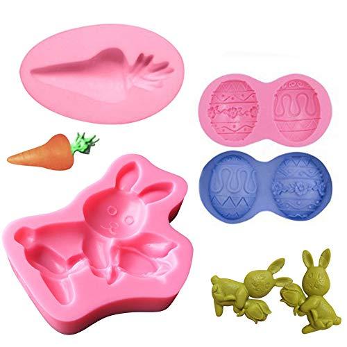 Siliconen Fondant Mallen Cake Decoratie Bakgereedschap voor DIY Sugar Craft Candy Chocolate Ice Cube Tray Zeep Paas-vijver mallen